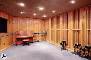 Studio Five's compact but versatile live area.