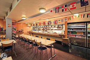 The legendary Maida Vale canteen!