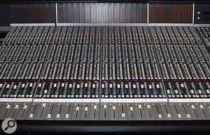 The centrepiece of Ariwa Sound Studios is, as you'd expect, an analogue desk, in this case an SSL.