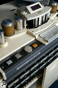 One of Ariwa Sound's tape recorders: an Otari MTR90 24–track.