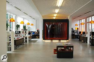Massive Music's Amsterdam office.