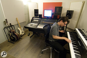 The recording and mixing side of Massive Music's studio work is handled by Pro Tools HD rigs with Control 24 controllers.