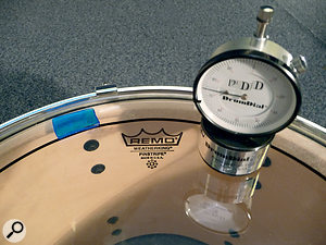 Drum tuning is askill that can defeat novices, and devices such as the Drum Dial can provide valuable help.