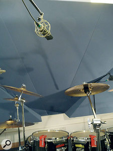 Where there are too many cymbals or too few mics, you can often get away with using one mic per pair of cymbals.