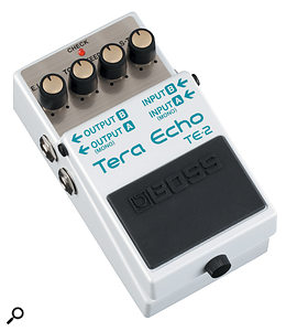 Boss TE2 Tera Echo Guitar Effects Processor