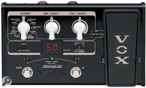 Vox StompLab IIG & Lil' Looper  Guitar Pedals