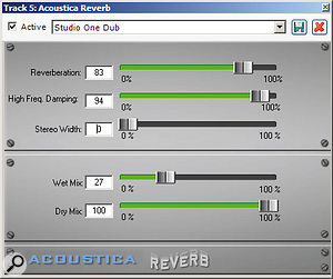 Mixcraft supports third-party VST and Direct X effects, and also ships with its own basic set of plug-ins.