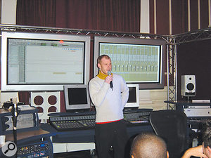 Stamina, a sense of humour and a bit of charm are qualities product demonstrators may find they need in addition to their music technology background...