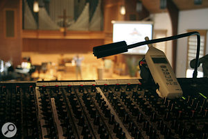 Churches are large spaces that need audio services just like any other venue.