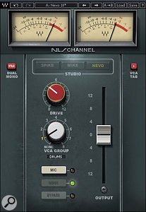 The third mixer modelled is aNeve belonging to producer and engineer Yoad Nevo.