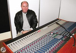 Bruce McBean, the Custom Series 75's designer.