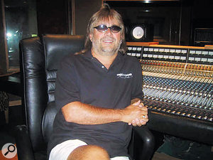 Engineer Steve Marcantonio, who has worked regularly with Gill, among other country stars.