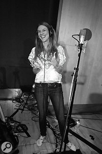 As well as Nitin Sawhney's usual musicians, guest star Joss Stone featured on 'I Ask You', miked with a Neumann U87.