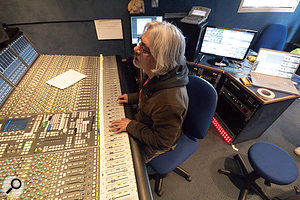 Miti Adhikari is the lead mixing engineer on the BBC's T In The Park main stage coverage.