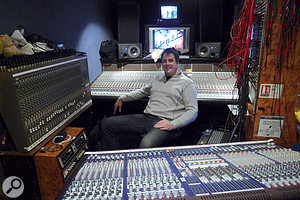 Simon Askew is another of the BBC's most experienced music mixers, and at T In The Park, he is handling