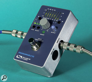 Source Audio Programmable EQ  Digital Equaliser Stomp Box