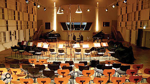 BWW was recorded in the spacious hall of Berlin's Teldex Studio, location for hundreds of classical recordings down the years.