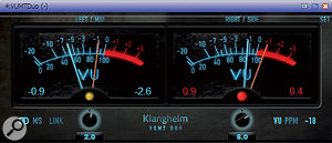 Are you lost without VU meters? Klanghelm's VUMT is a versatile bargain with plenty of different applications.