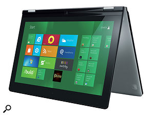 First seen at the Consumer Electronics Show 2012, Lenovo's IdeaPad Yoga 360-degree flip-and-fold Ultrabook design is areal taste of the future.