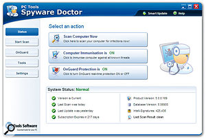 Version 5.0 of <em>Spyware Doctor</em> is faster, more thorough, and more deadly to online nasties than ever before.