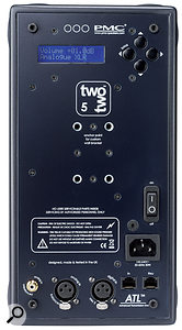 The rear panels host both digital and analogue inputs, as well as amenu-driven control system and RJ45 sockets for speaker linking and connection to aremote control.