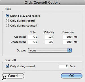 Set the output to an instance of Xpand! and you can use Xpand! sounds to play the Pro Tools click.