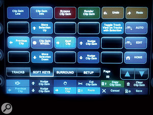 Artist Control page 50 is dedicated to commands relating to the new Clip Gain feature in Pro Tools 10.