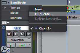 By creating aduplicate Playlist, you can render effects using AudioSuite, yet retain the unprocessed audio on the original Playlist.