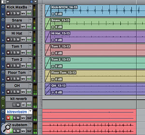 The safest way to archive submixes and send effects is to record them to new stereo tracks.