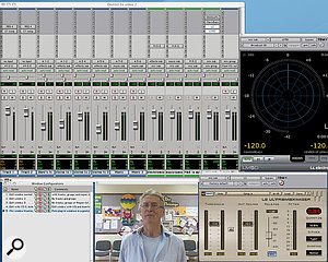 Another real-world use for Window Configurations: I like to keep the Video window small while tracking and mixing (left) but have it much larger at lay-off time (right).
