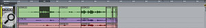 With the default Zoom Toggle setting, Pro Tools will zoom horizontally to fit your selection to the window, but keeps the vertical track height the same.