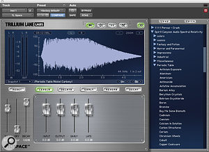 With asuitable IR, convolution can produce some fascinating tempo‑sync'ed rhythmic effects.