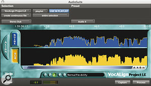 The automated option: Synchro Arts' Vocalign.