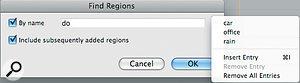 Region Control