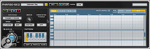 Transfuser's Phrase–Seq phrase sampler/sequencer can be used simply to trigger samples, or to mangle them in various interesting ways!