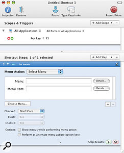 Creating Your Own Shortcuts & Macros