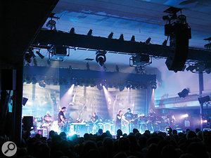 Portishead at the Corn Exchange, Edinburgh, in April 2008.