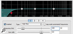 There are various reasons why using a high-pass filter on a signal can make it sound louder. Some equalisers, for example, actually boost the region  just above the turnover frequency, which can produce an increase in peak level.