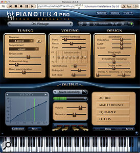 If latency on your sampled piano sounds makes playing uncomfortable, you could always try Pianoteq when playing live.