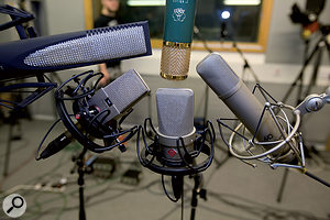 Can one mic be made to sound like another using EQ, or are there more fundamental differences?