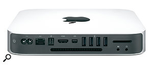The updated Mac Mini comes with a 2.4GHz processor, 2GB RAM and a 320GB hard drive as standard, making it perfectly capable of running decent numbers of tracks.