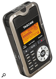 Q. What pocket recorder should I buy to record my music?