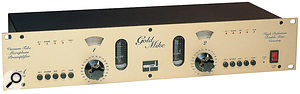 When you're on abudget, agood‑quality preamp that's clean sounding is likely to be the most sensible long‑term investment, but if you're set on 'character', there are a number of suitable devices that won't break the bank, including the original SPL Gold Mike, which can be found second-hand for £200-300.