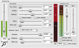 Low‑threshold, low‑ratio compression can be used to increase the subjective loudness of your mixes without excessively compromising dynamic range.