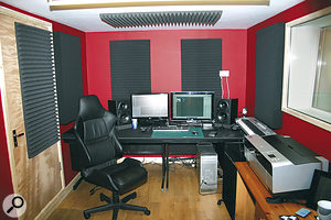 The idea of trying to use EQ to compensate for perceived shortcomings in the frequency response of your monitors might seem tempting, but it can actually make things worse. Addressing your mixing room instead, using correctly placed acoustic treatment, will usually yield much more sensible and consistent improvements.