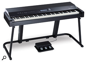 A large instrument such as the Roland V-Piano wouldn't be the easiest option for gigging, but in a permanent installation its size and weight would be much less of an issue.