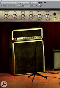 There are some excellent amp sims on the market, such as the Softube Vintage Amp Room, which benefits from the simplicity of its interface.
