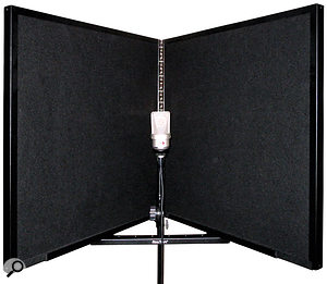 Both the SE Reflexion filter and the RealTraps Portable Vocal Booth perform very well for the applications they are designed for. However, they can never replace proper room treatment. The old trick of hanging aduvet behind the singer is agood compromise in asituation where you don't want to permanently treat your space.
