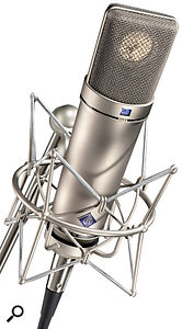Although our reader may neverachieve great results using vastly different mics in an M/S setup, it may still be worth him experimenting with his U87 in figure-of-eight mode as aSide mic and his Rode M3 as aMid mic.