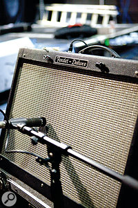 While amp sims are widely used and very effective, many top producers prefer to use the real thing in their productions, to add depth and character to their sound.